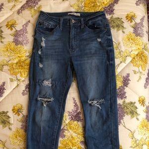 KanCan Ripped Jeans Medium Wash